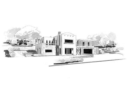 Villa in Platanias – in progress